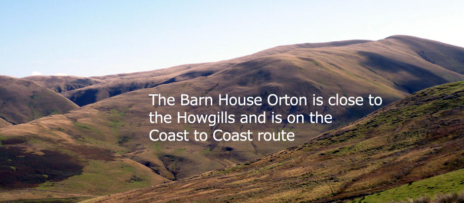 Bed and breakfast accommodation Barn House Orton Cumbria